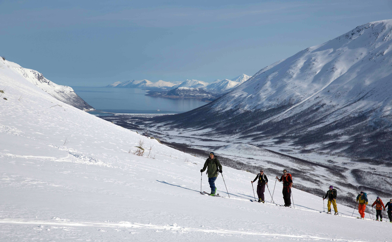 High Camp i gang i Lyngen